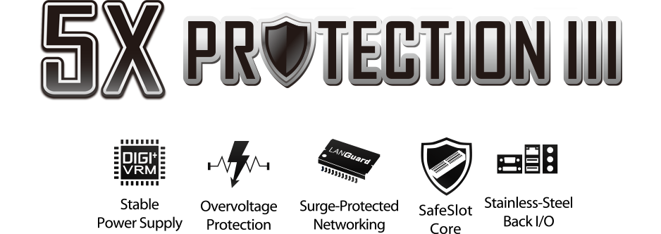 5 x protection