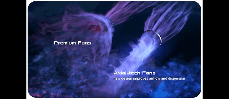 axial tech fan design