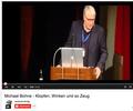 Michael Bohne im Eröffnungsvortrag der Tagung