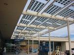 Commercial Solar PV Panel Canopy