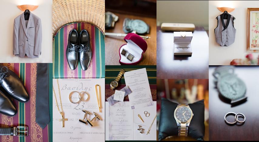 Groom Suit - Wedding Rings - Groom Accessories FS Events