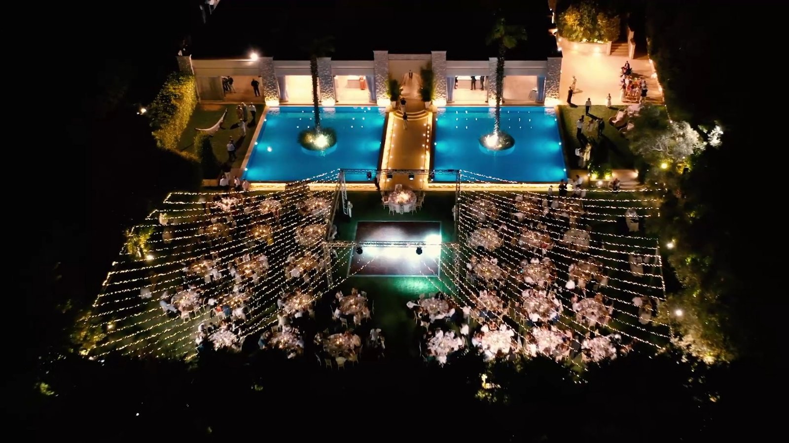 Sound and Light Services - Fairy Lights for Weddings in Greece