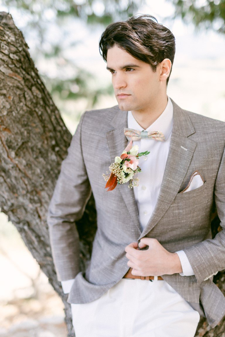 FS Events Styled Shoot - Groom Suit by Giannetos