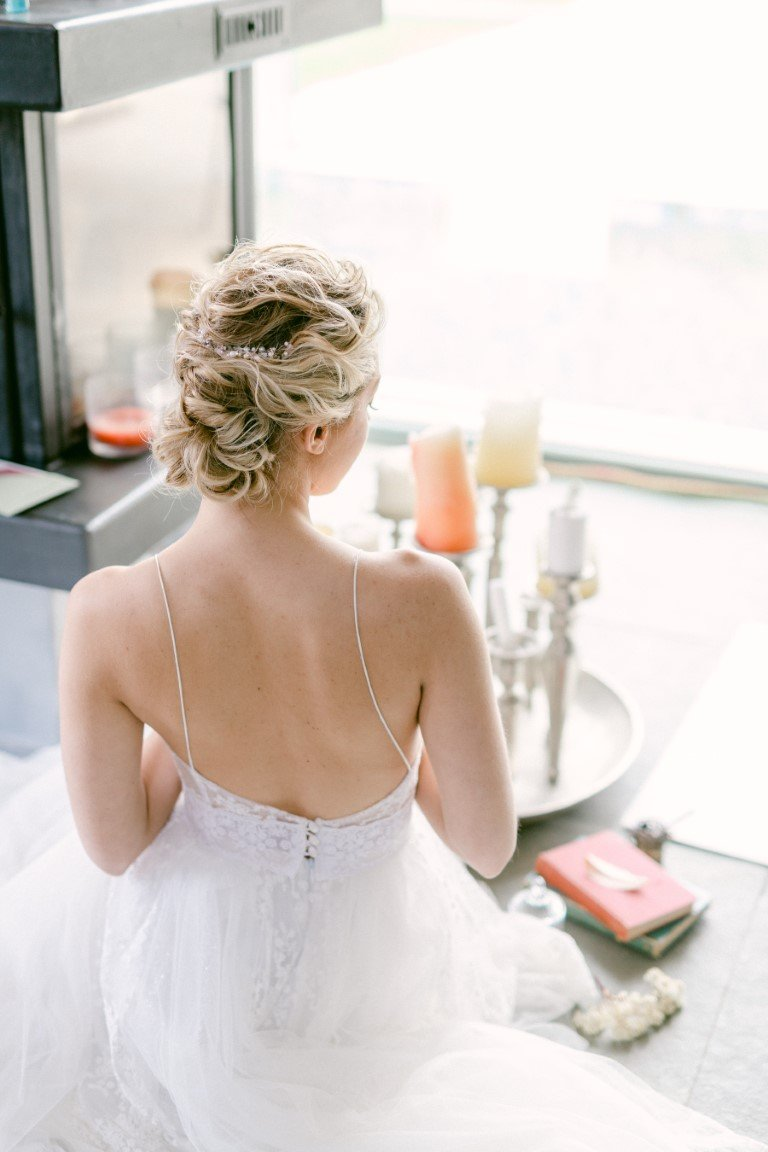 FS Events Styled Shoot - Silver Bridal Headpieces By Katerina Savrani