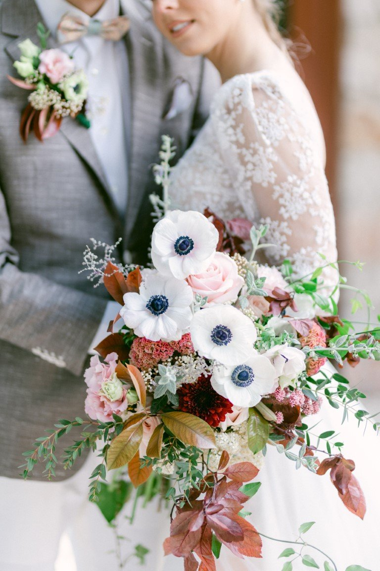 FS Events Styled Shoot - Bridal Bouquet by Moustakis Flower Company