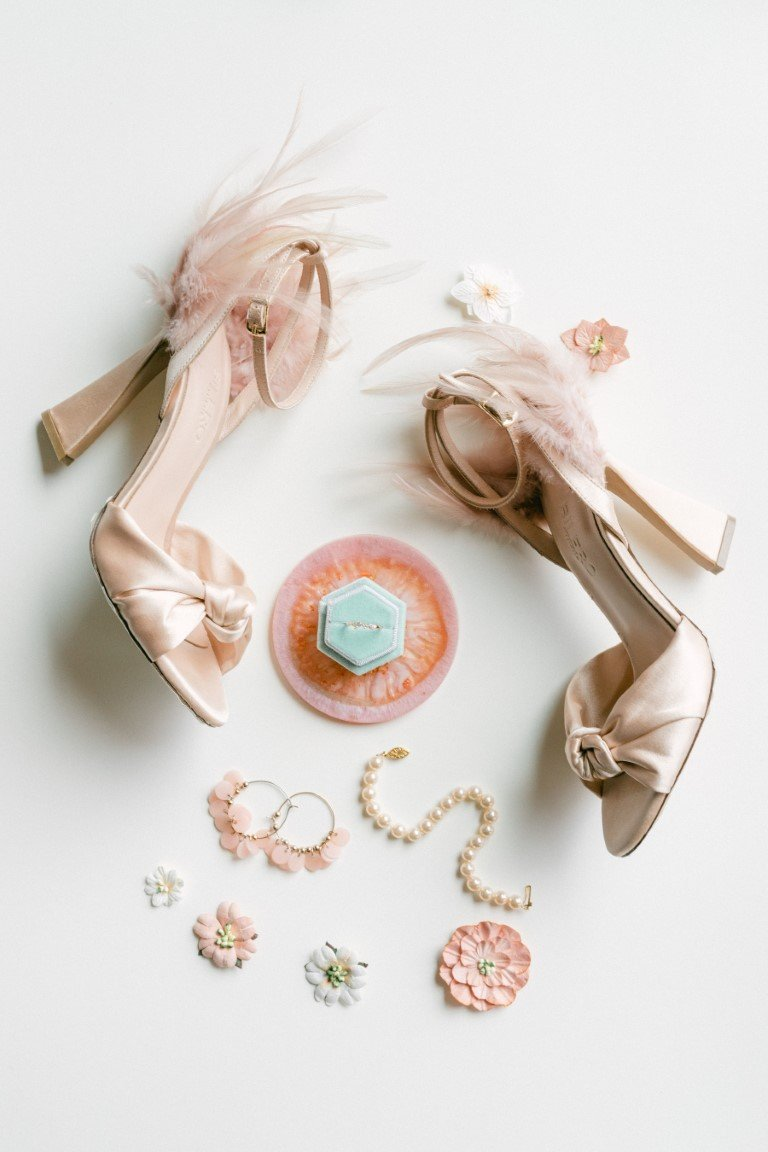 FS Events Styled Shoot - Bridal Shoes by Bilero