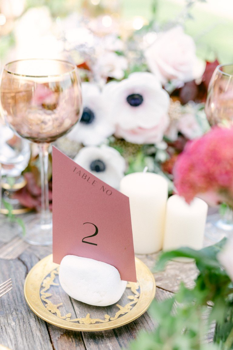 FS Events Styled SHoot - Table Number by Just Invite