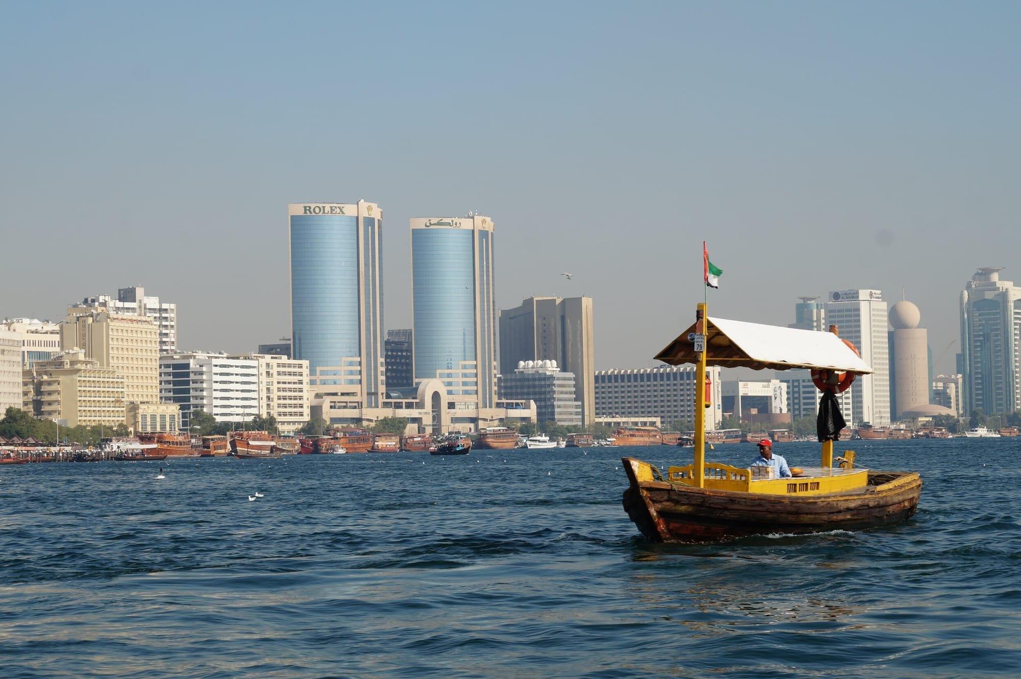 שייט בדטבאי - הסירות הצהובות