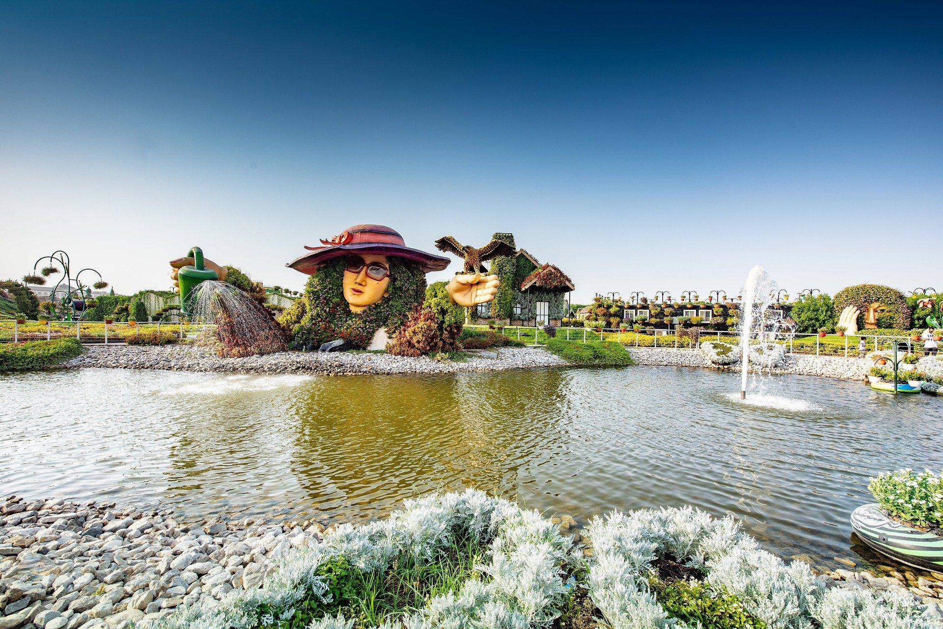Mircal Garden - גן הקסמים בדובאי
