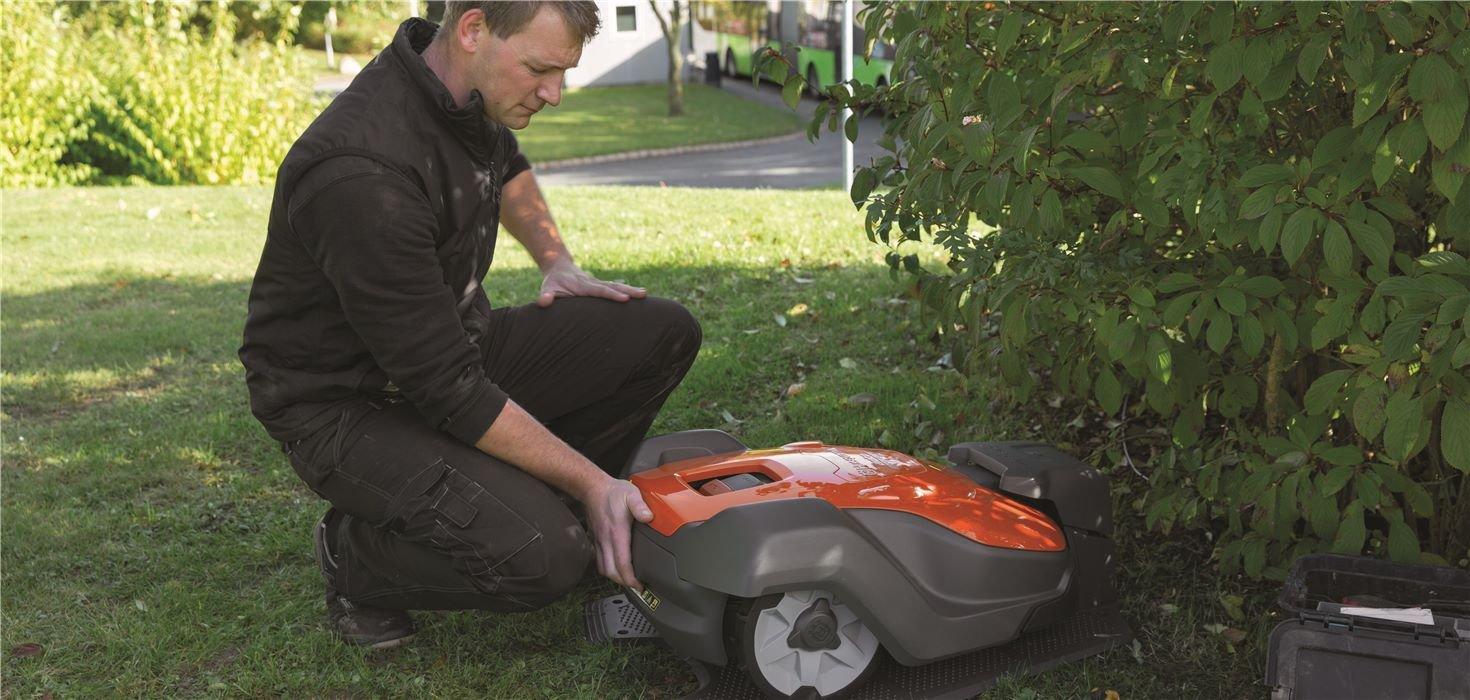 Jak nainstalovat vaší robotickou sekačku Husqvarna