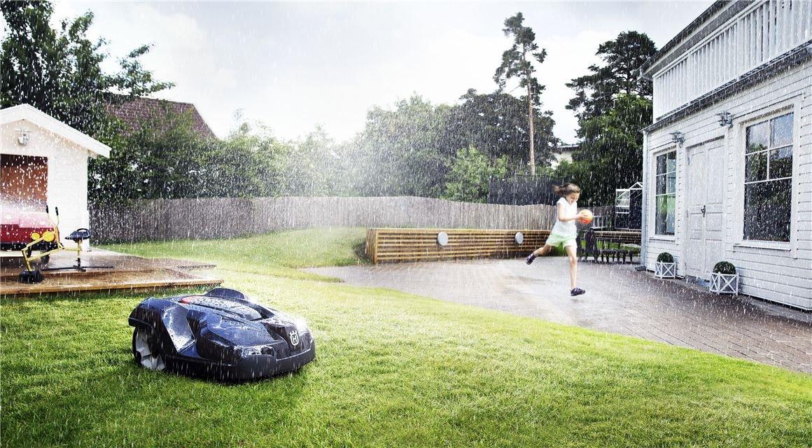Výhody robotické sekačky Husqvarna Automower®