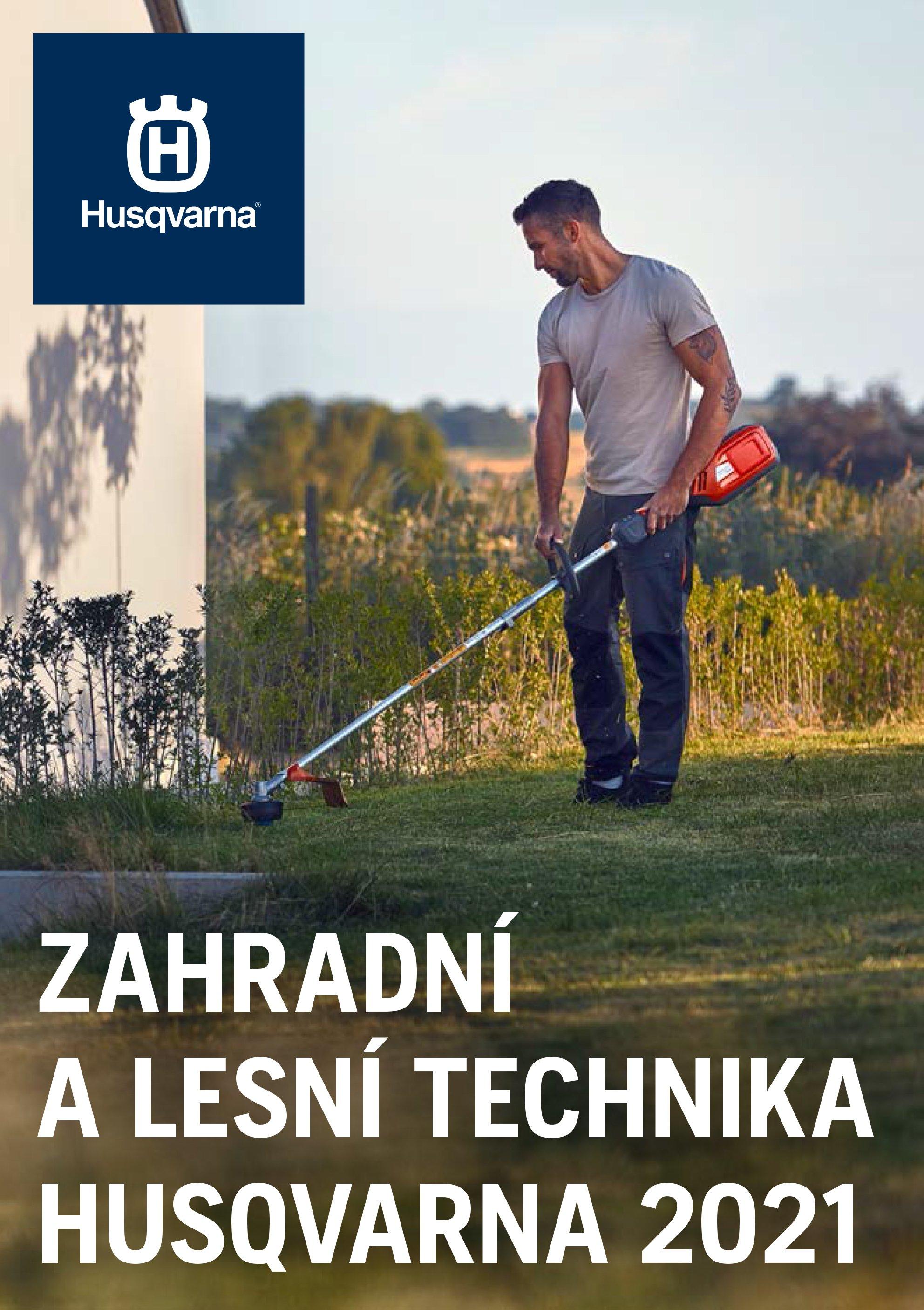 Zahradní a lesní technika Husqvarna 2021
