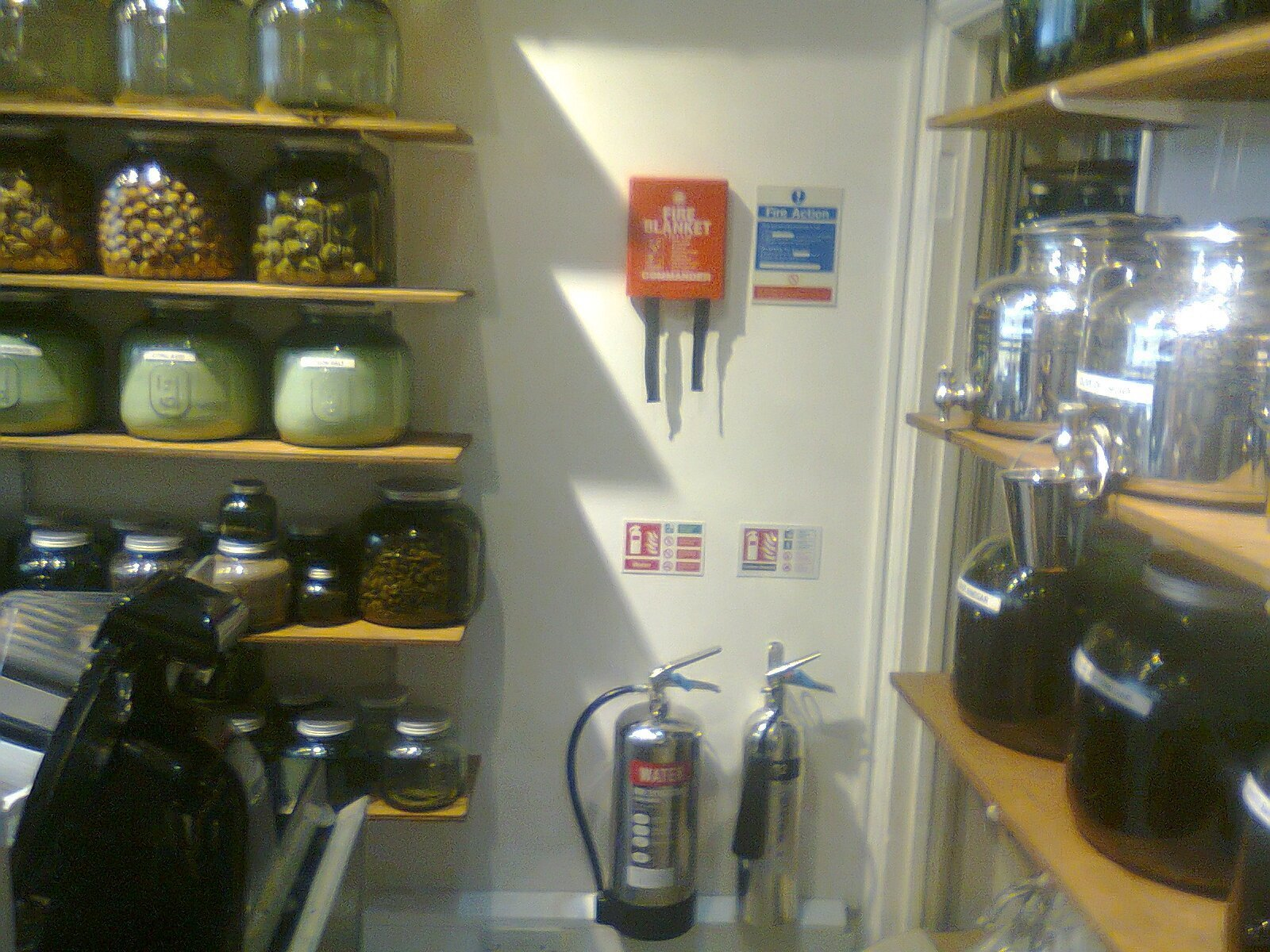 Fire Extinguisher Fitting to Wall & Installation to meet BS 5306-8: 2012 - Reading, Berkshire