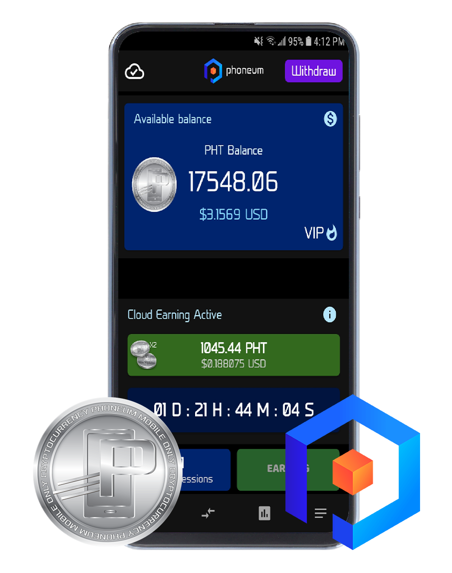 PHONEUM - CRYPTO CURRENCY PHT