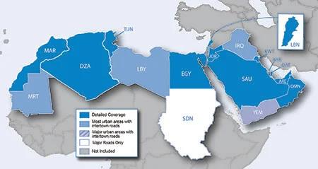 City Navigator® Middle East & Northern Africa NT Carte officielle du Maroc pour GPS GARMIN 2021          Uniquement en téléchargement sur votre GPS