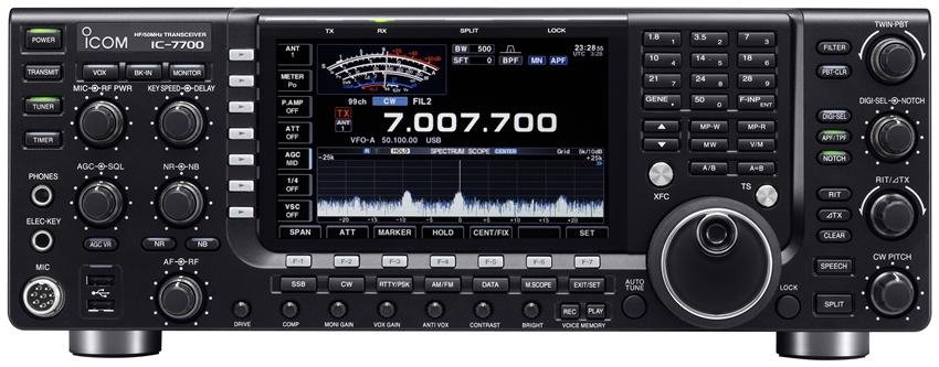 Radio amateur sur le Maroc IC-7700 ICOM