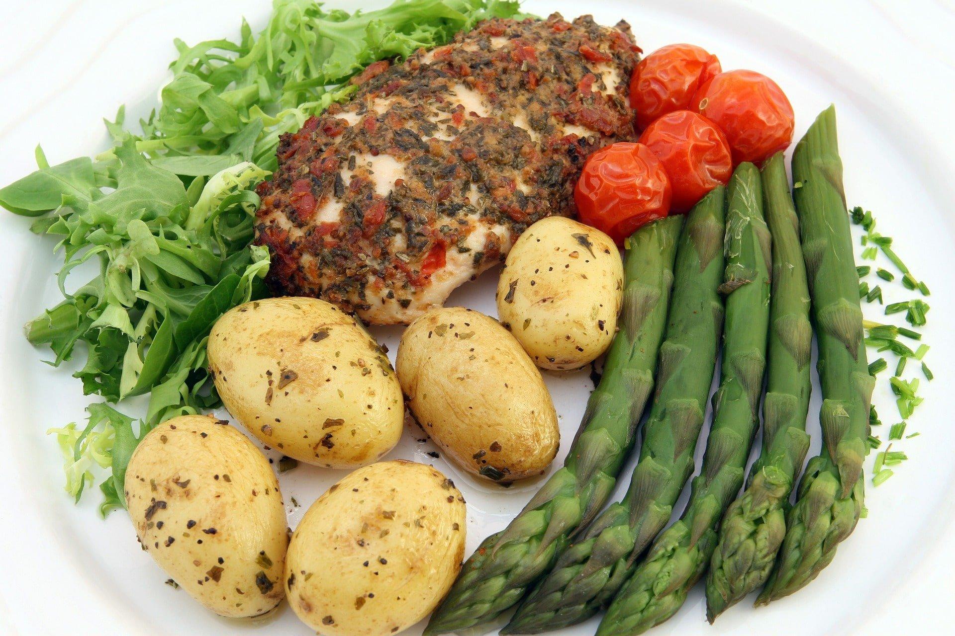 Repas équilibré pour la santé