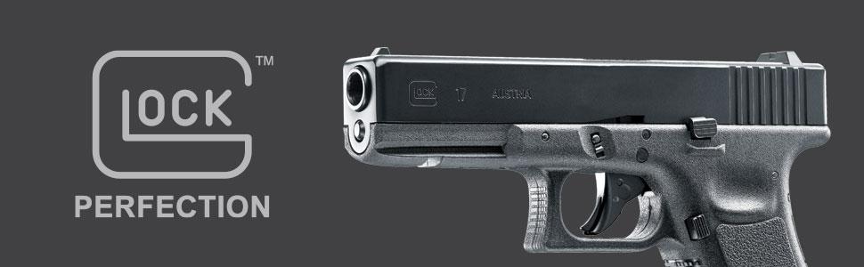 Glock, Umarex, UX, Gen3, Glock 17, Air pistol, airgun, Blowback, CO2, .177 caliber, steel BBs