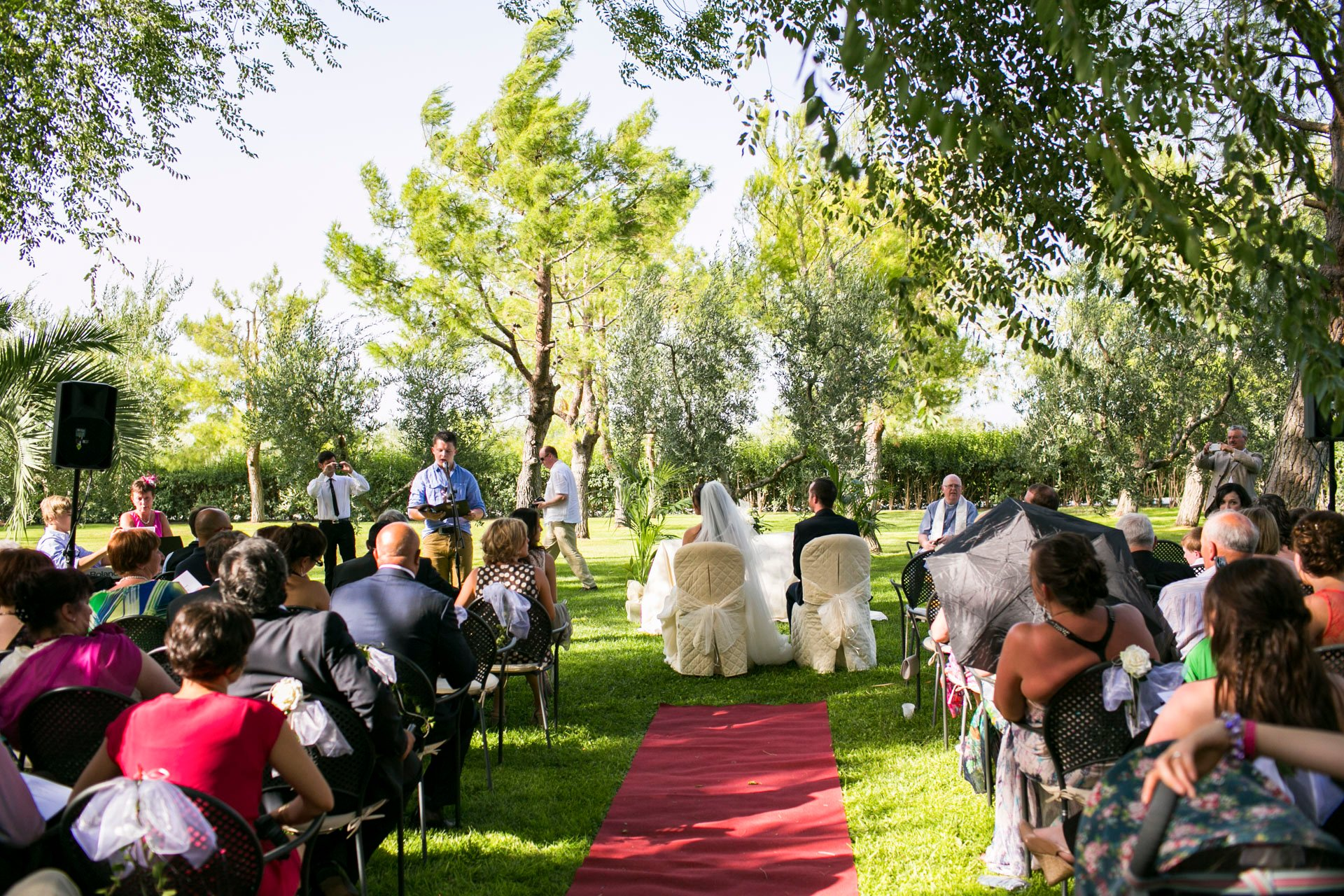 real love wedding on the green