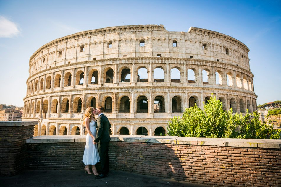 photo session at Colosseum