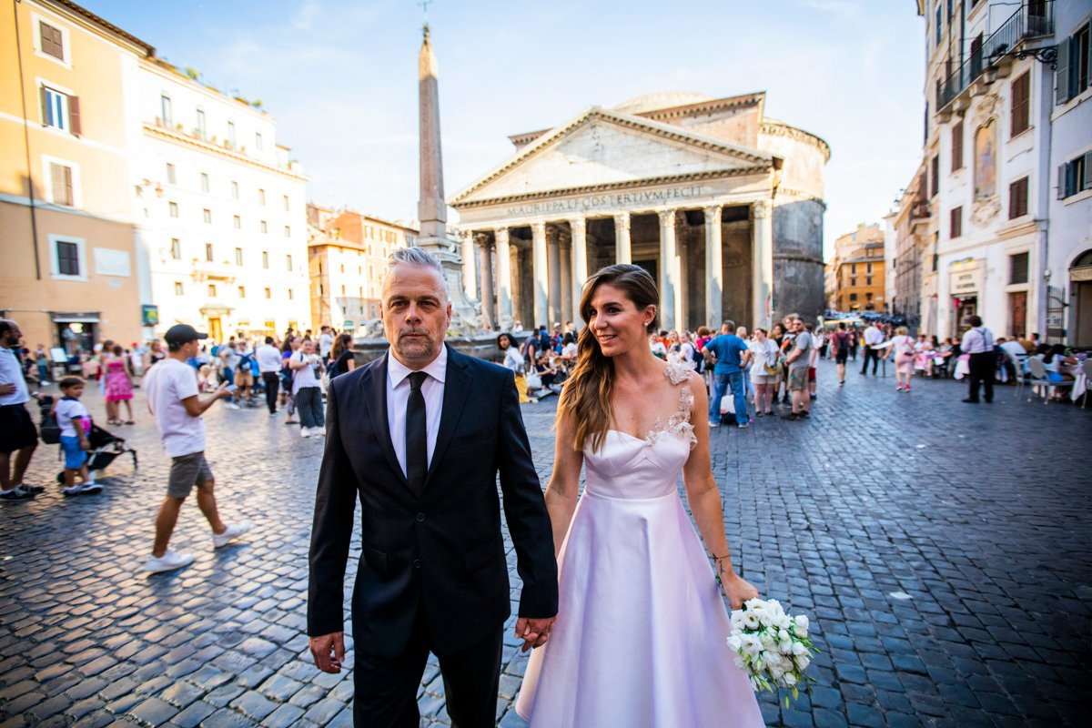 rome pre-wedding photo session