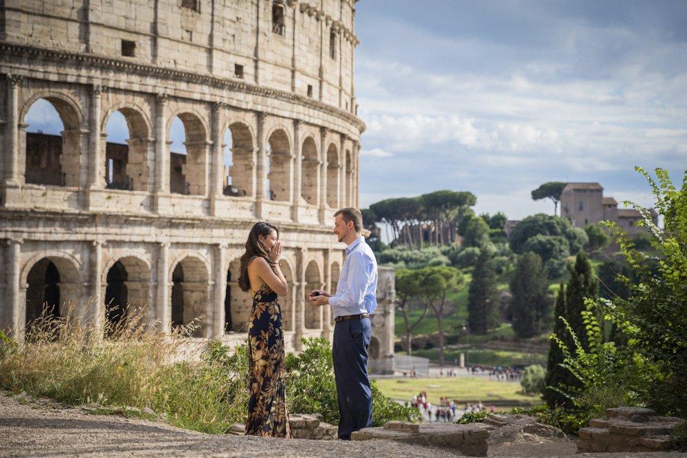 Surprise proposal at Coliseum
