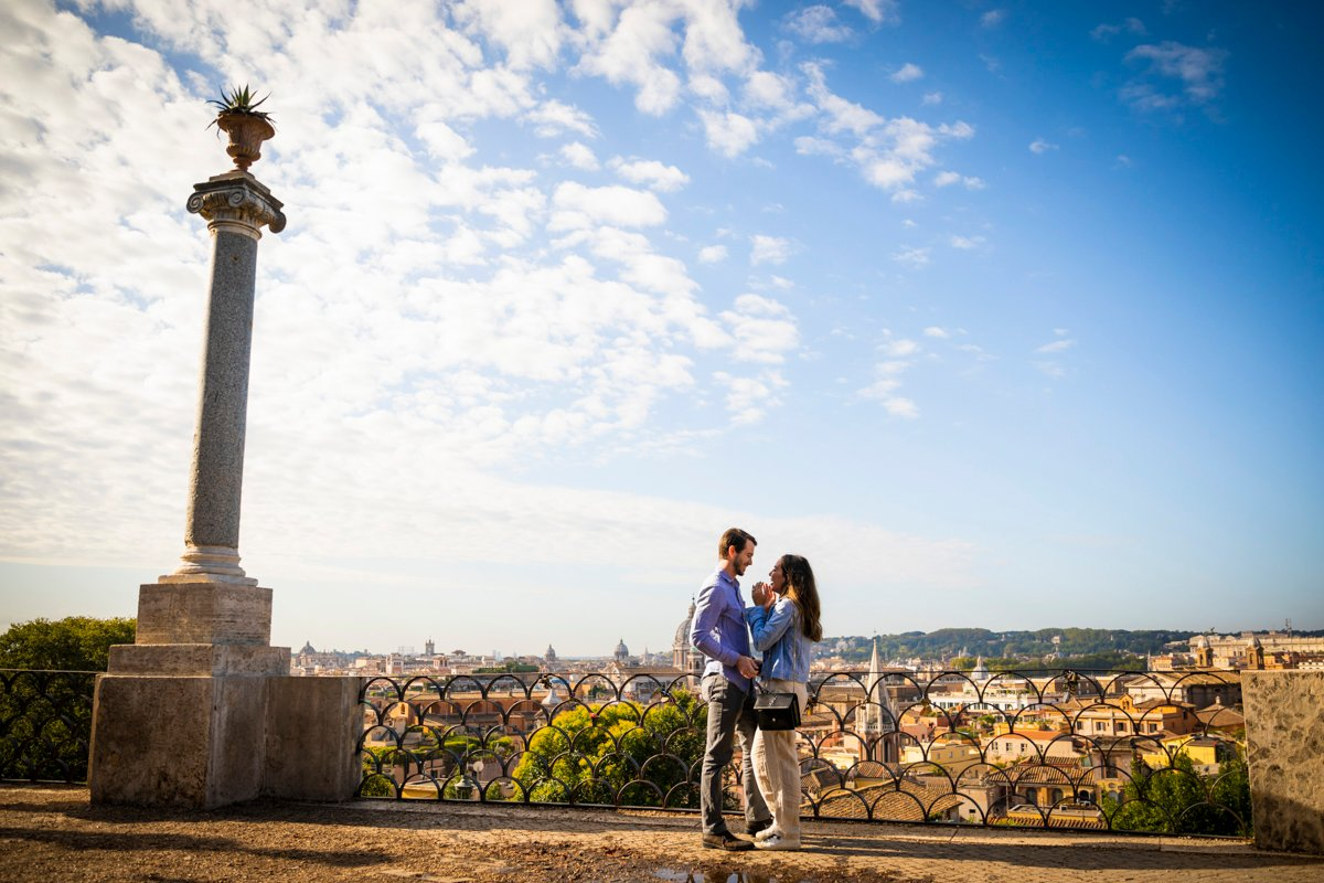 proposal photographer in rome