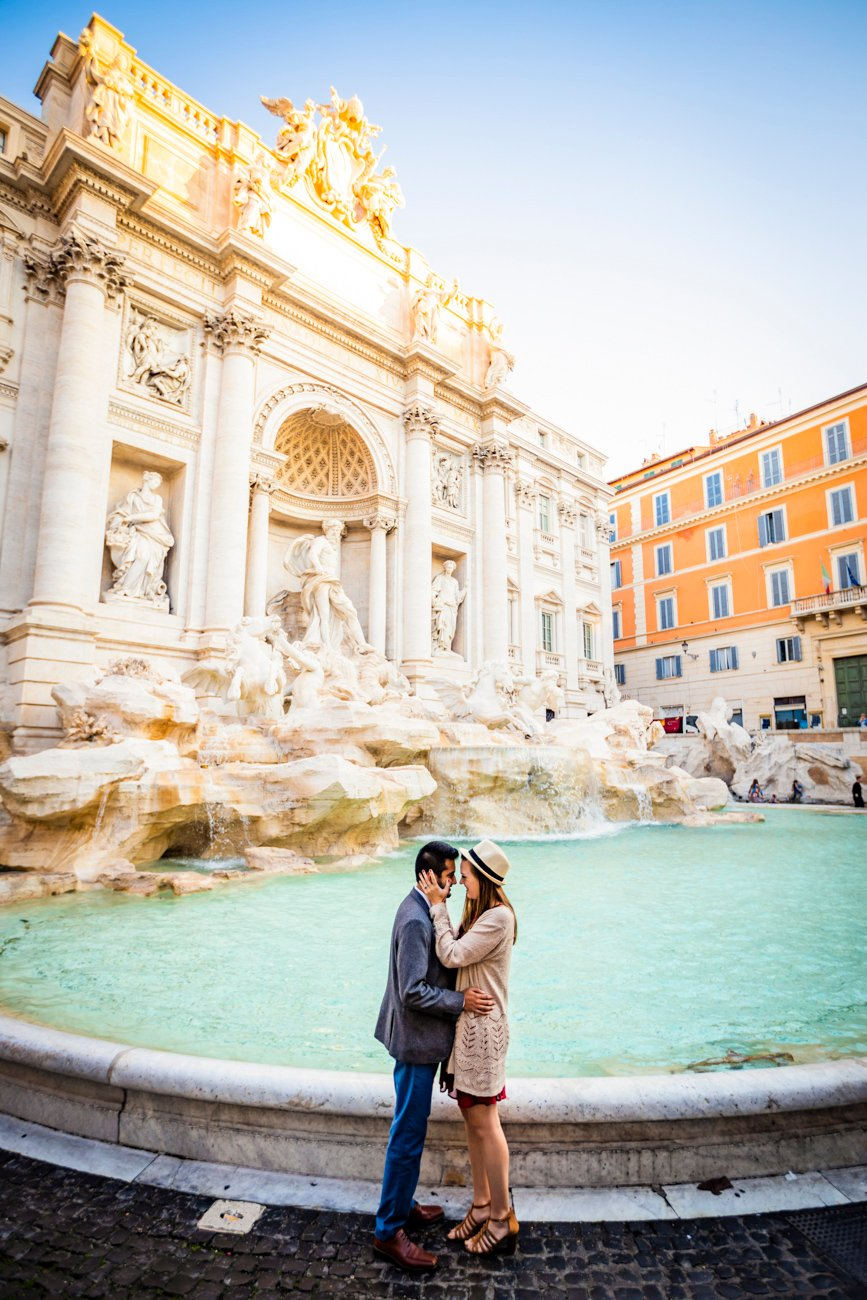 elopement and engagement ideas in Rome