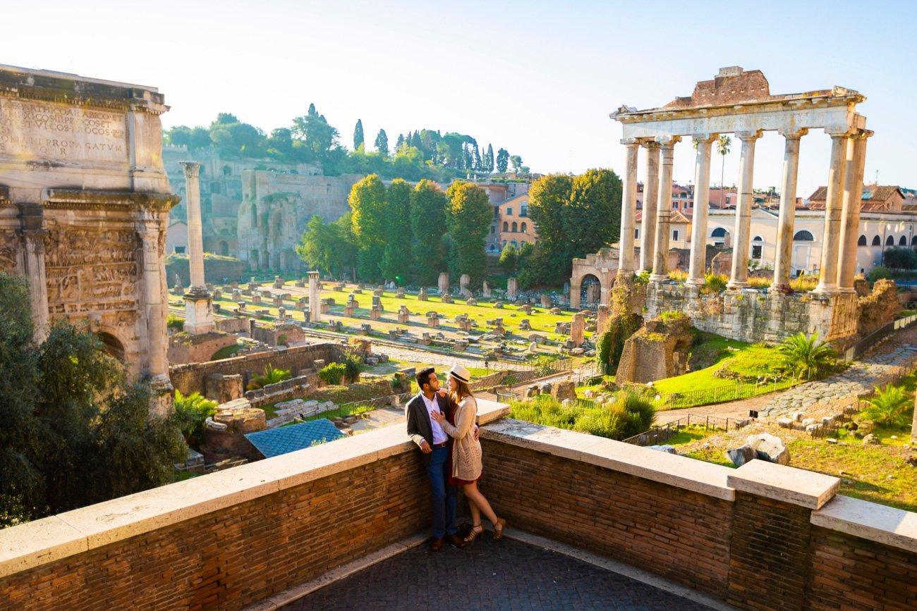 proposal planner in rome