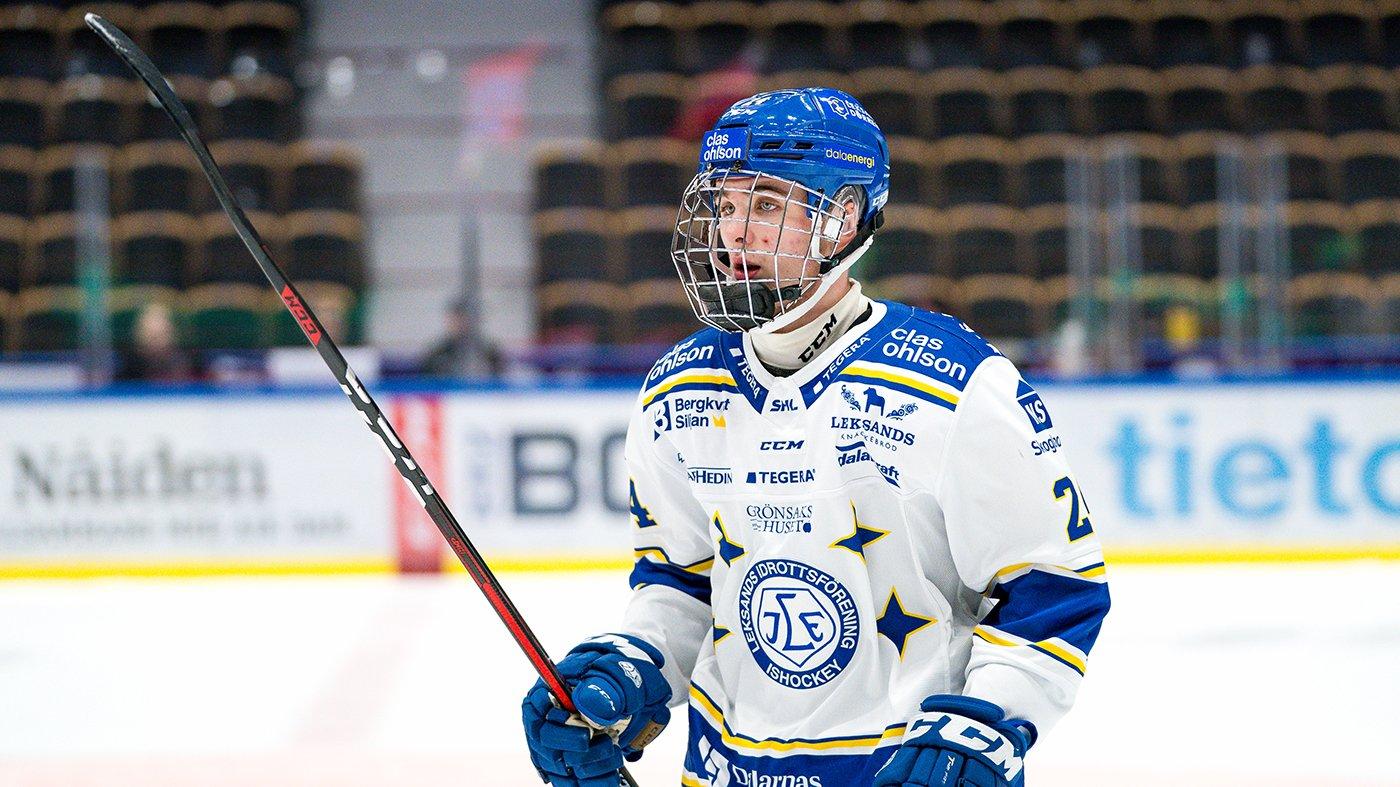 Isak Rosén under säsongen 21/22.
