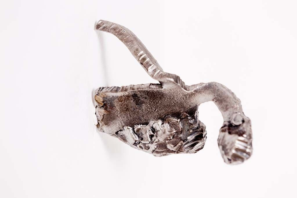 MASA [II] | Iron sculpture of the Israeli artist, sculptor Rami Ater