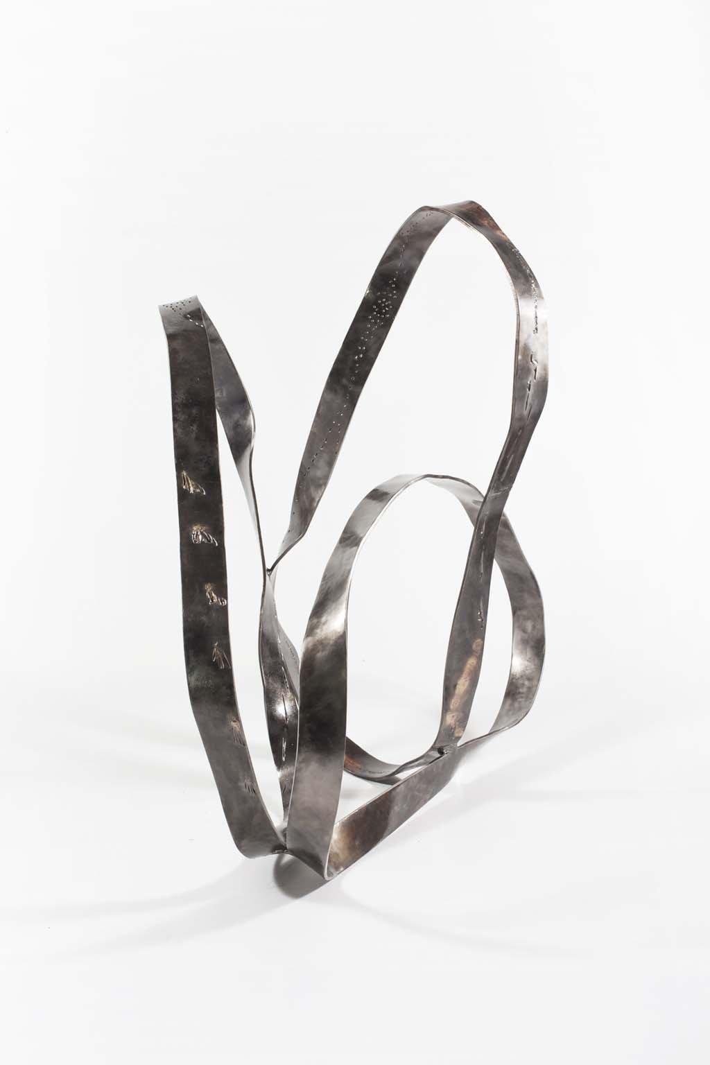 'Oblivion II ' | Iron and brass sculpture | Artist: Rami Ater