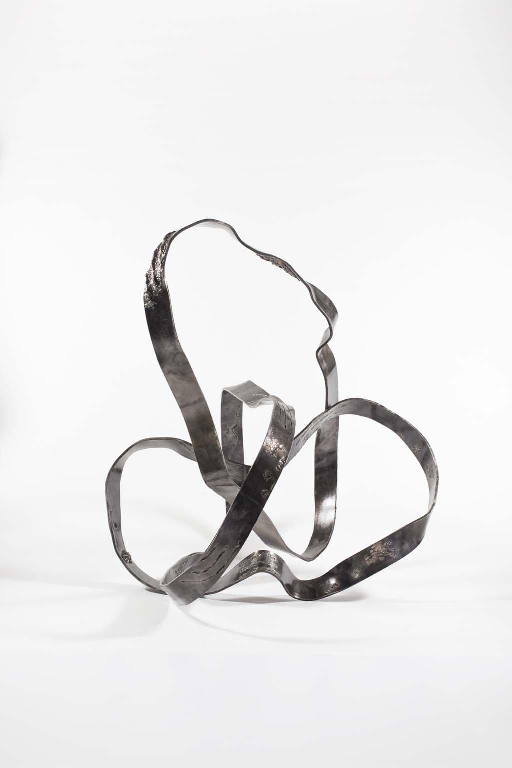 'Oblivion III ' | Iron and brass sculpture | Artist: Rami Ater