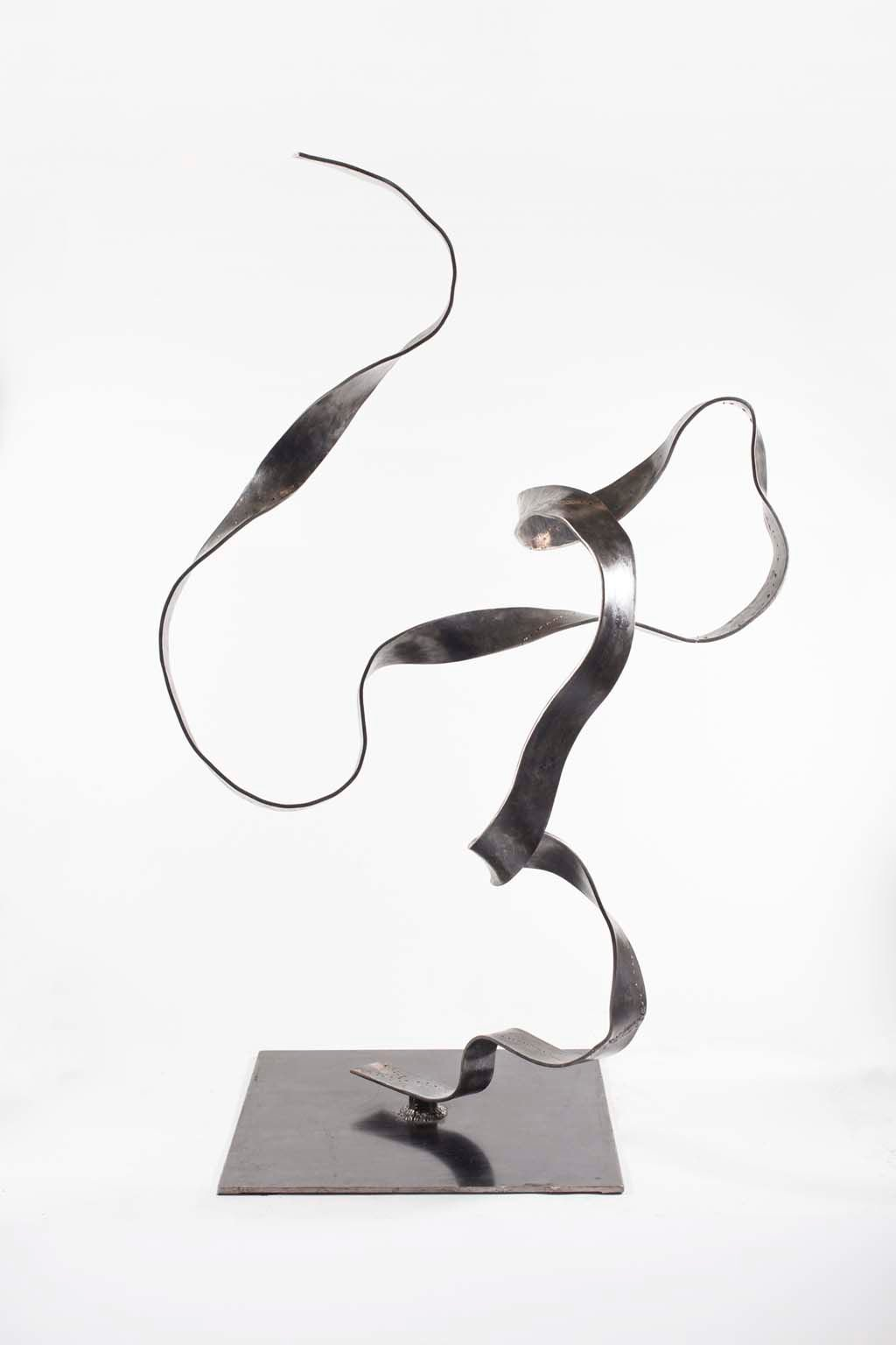 'Oblivion VI' | Iron and brass sculpture | Artist: Rami Ater