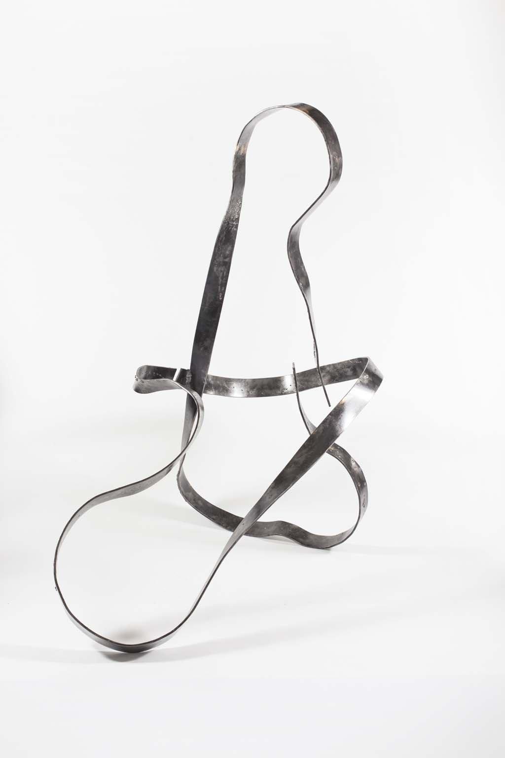 'Oblivion VIII' | Iron and brass sculpture | Artist: Rami Ater