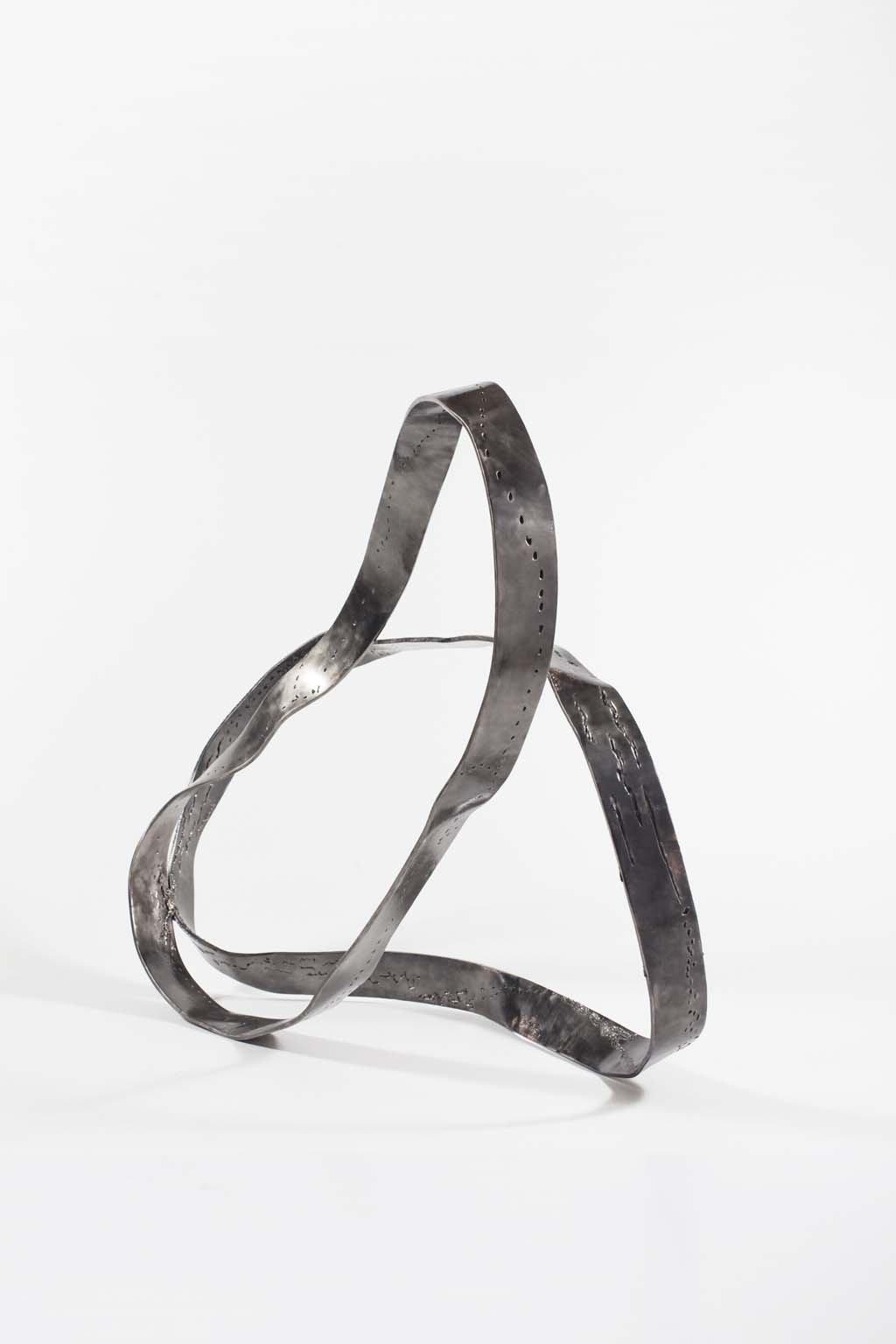 'Oblivion I ' | Iron and brass sculpture | Artist: Rami Ater