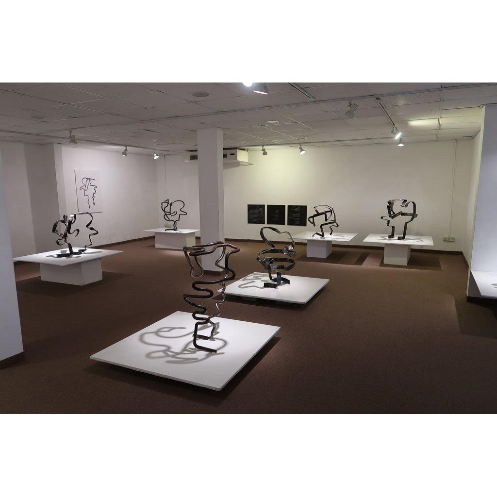 Rami Ater | Solo Exhibition | Iron Sculptures