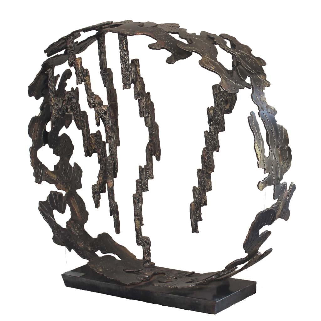 Insights II | 2014 | Iron & brass sculpture of the Israeli artist, sculptor Rami Ater