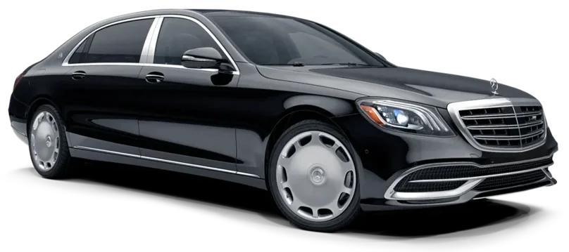 Airport Taxi and Transfers with Mercedes Maybach in St Petersburg Russia