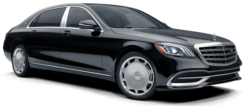 Mercedes - Maybach Luxury Airport Transfer in St Petersburg Russia