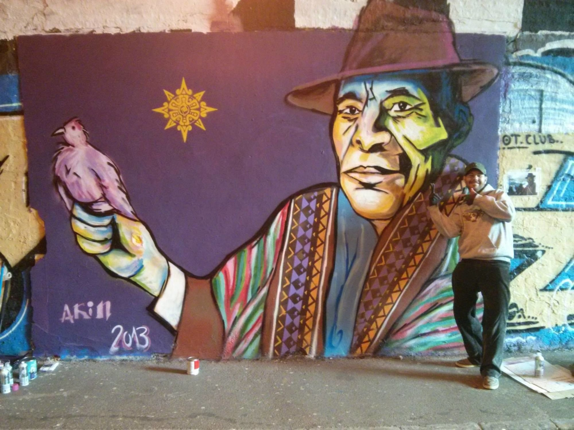 Jona Jefferies Graffiti