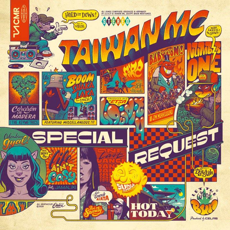 Taiwan MC Albun Cover