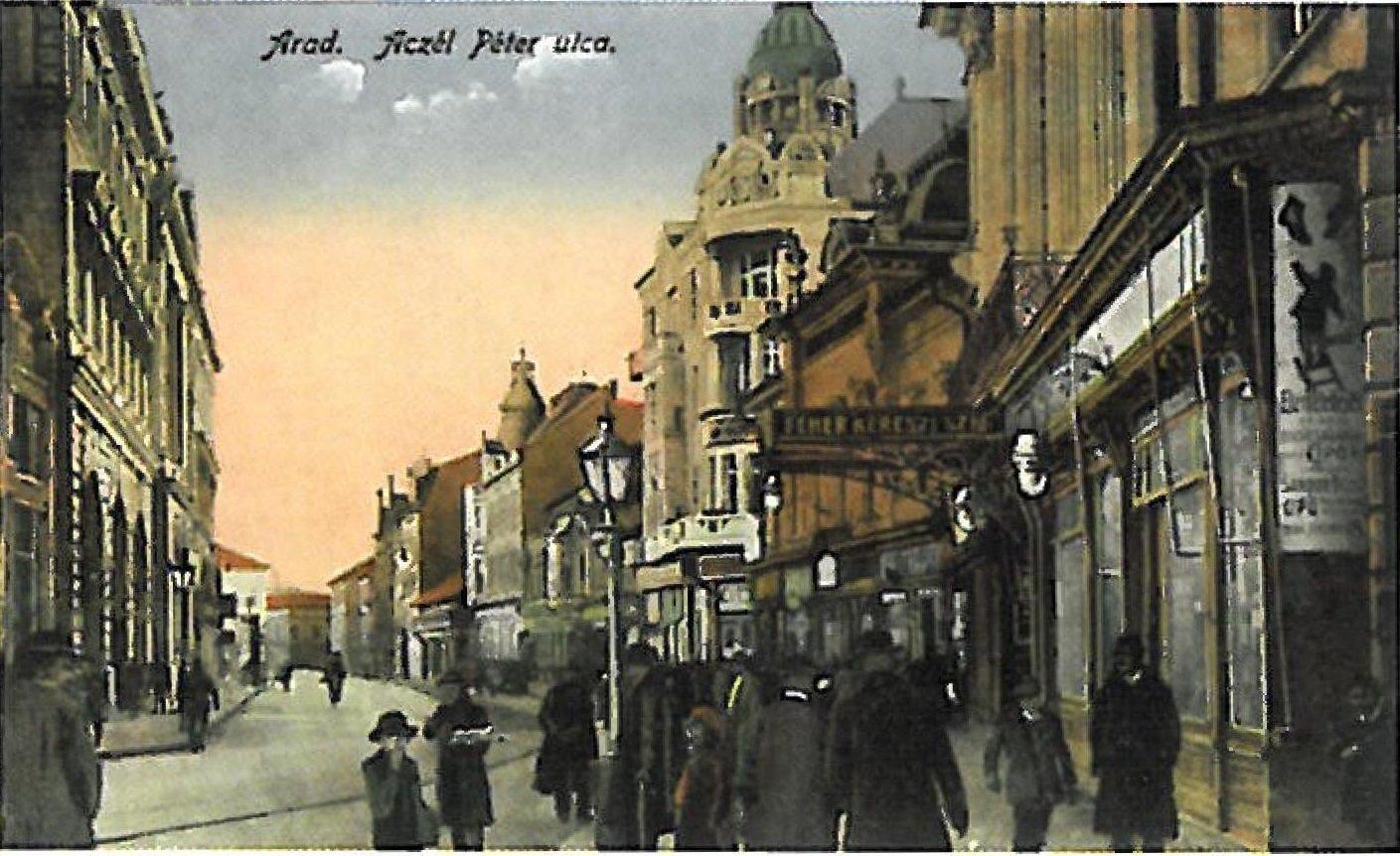 Hotel Crucea Alba Arad 1900