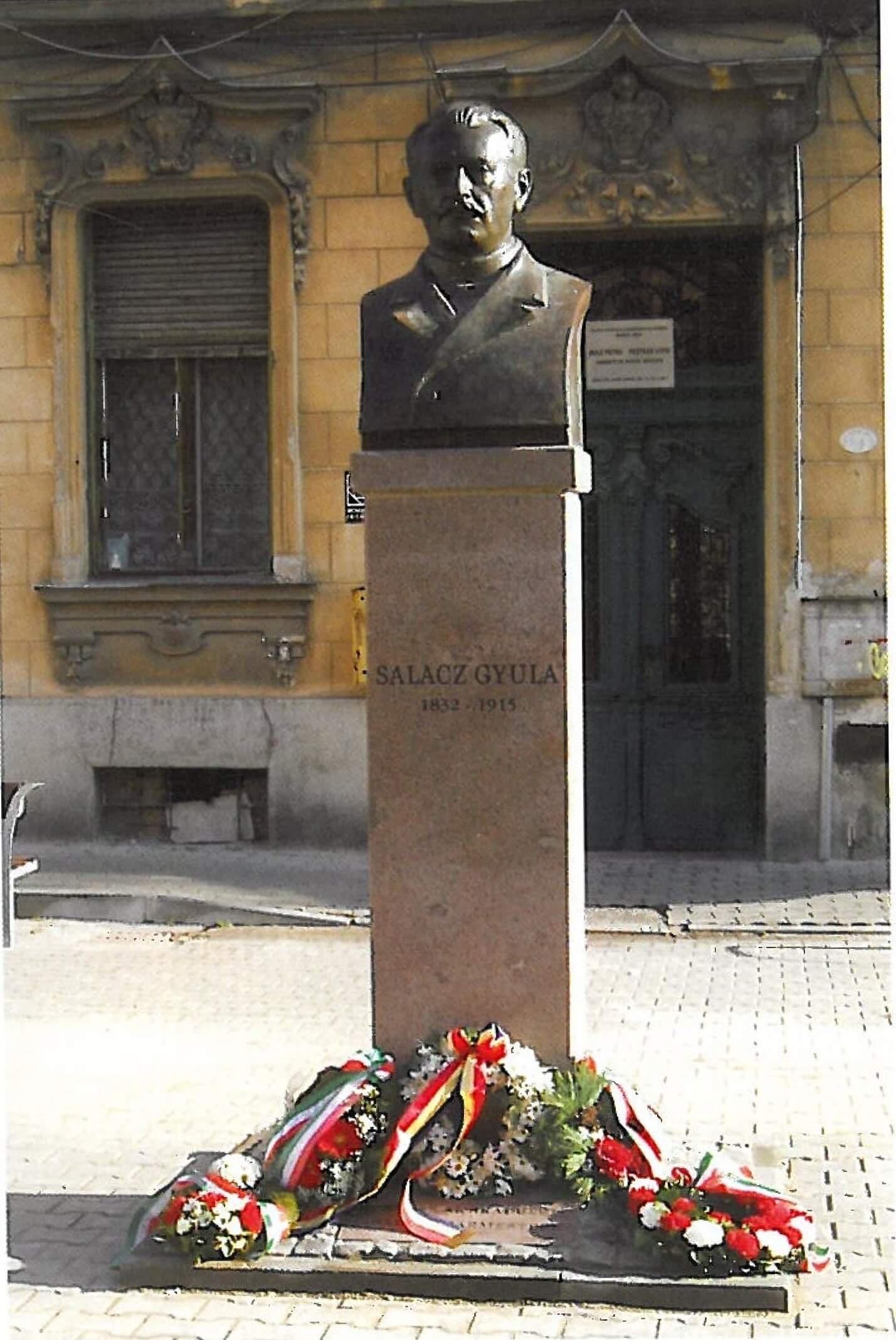 Bust Salacz Gyula Arad 2012