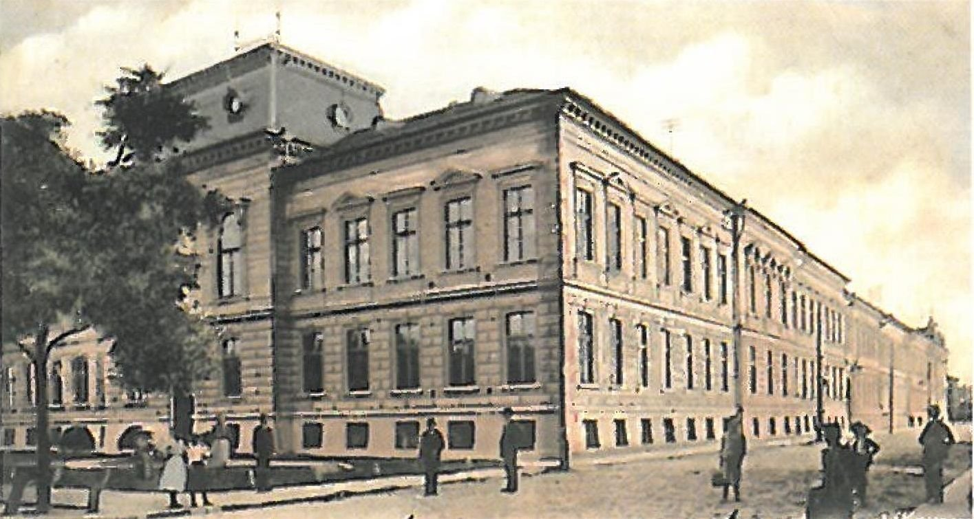 Kereskedelmi Foiskola Arad 1900