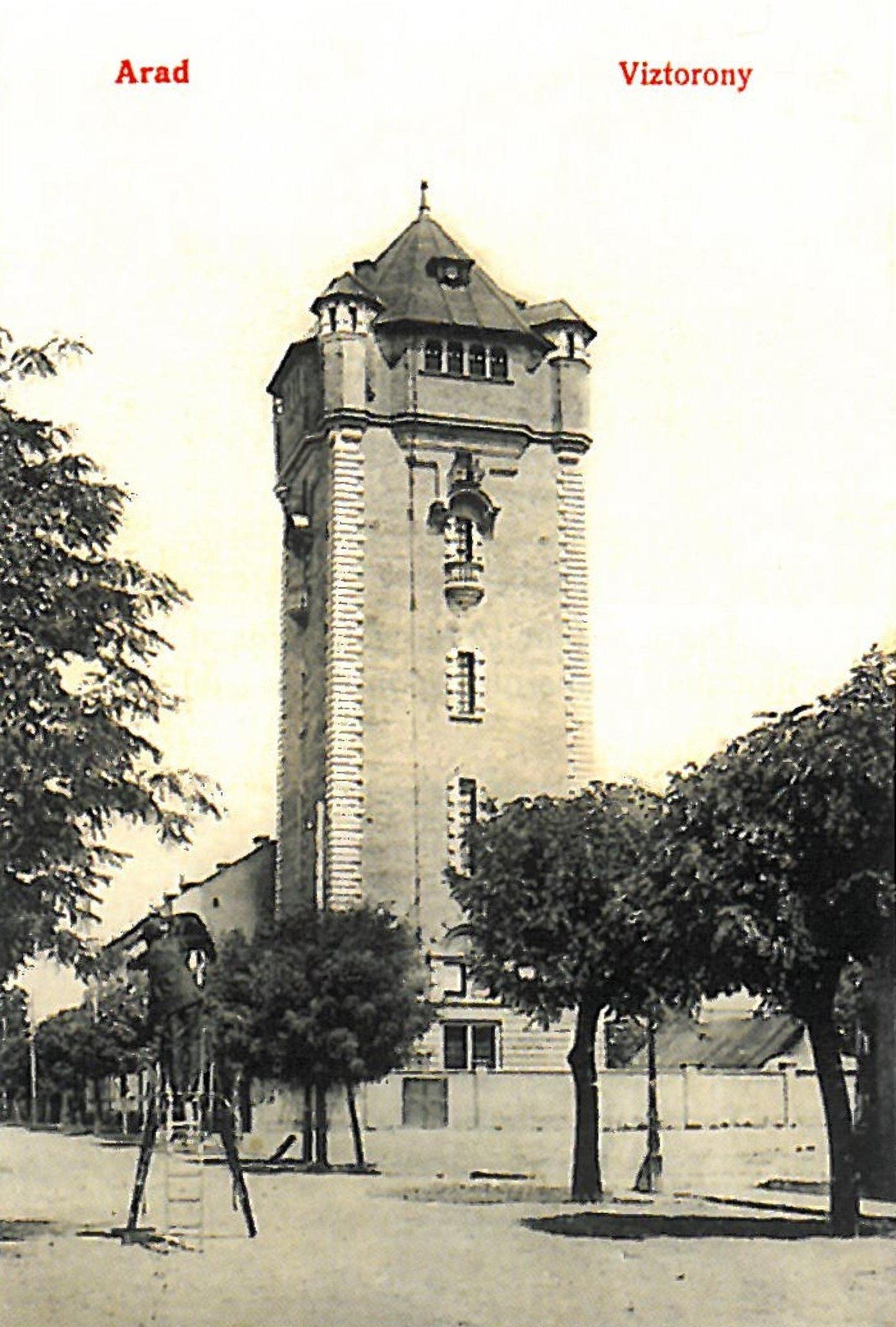 Aradi viztorony 1900