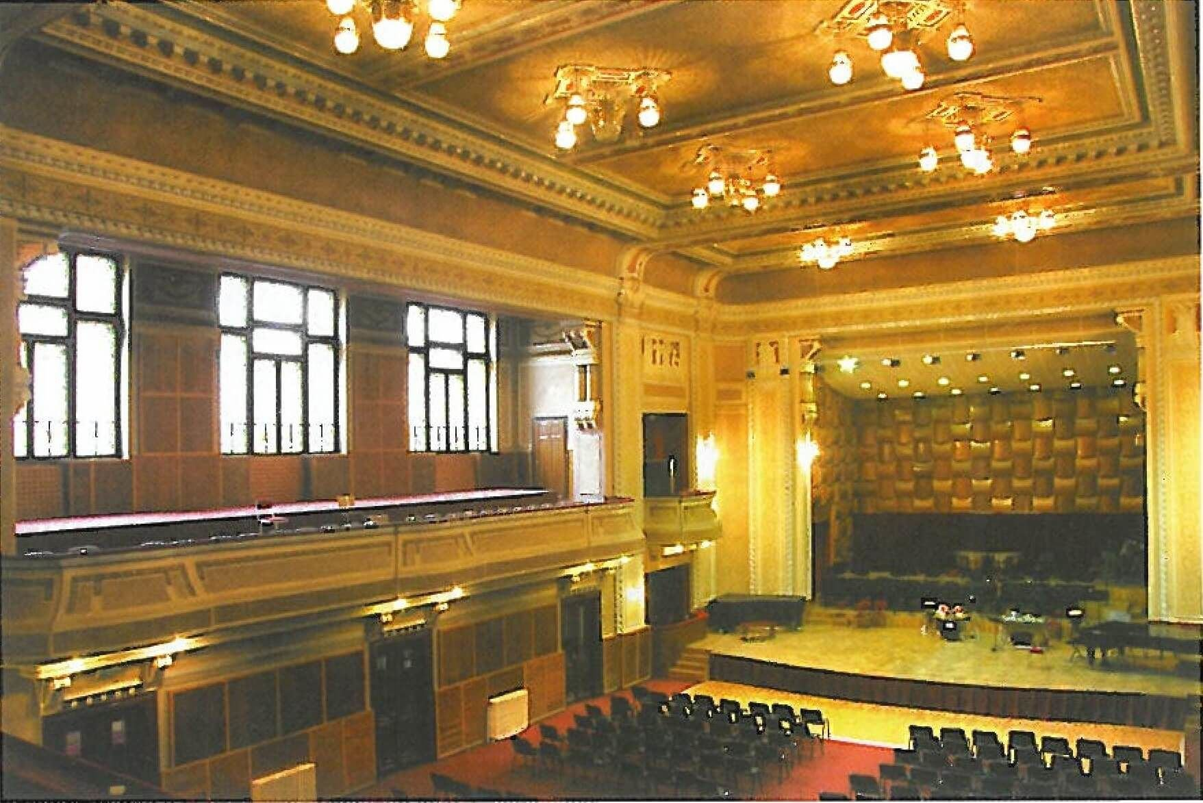 sala concerte Filarmonica Arad
