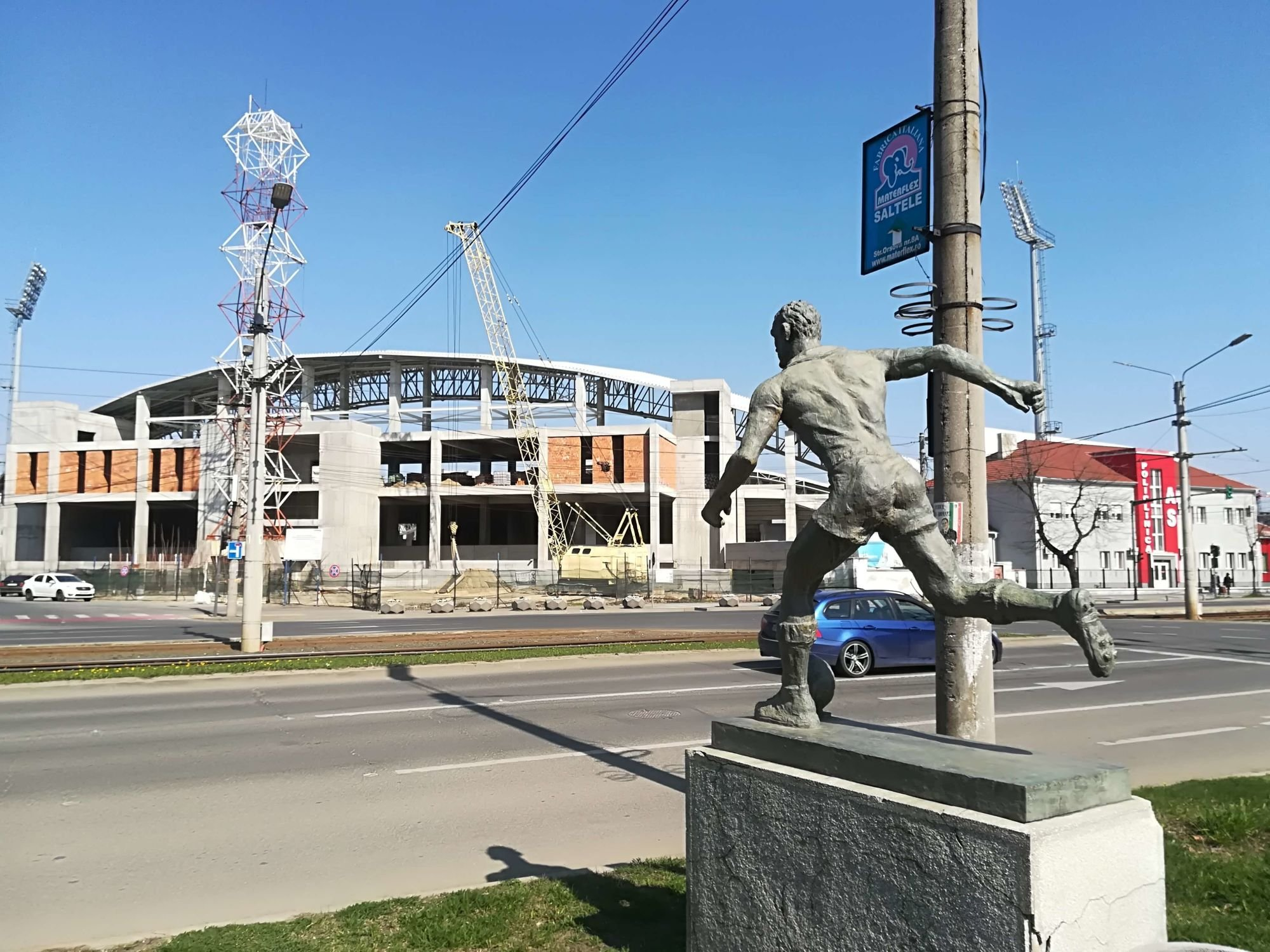 Aradi Neuman Ferenc varosi stadion