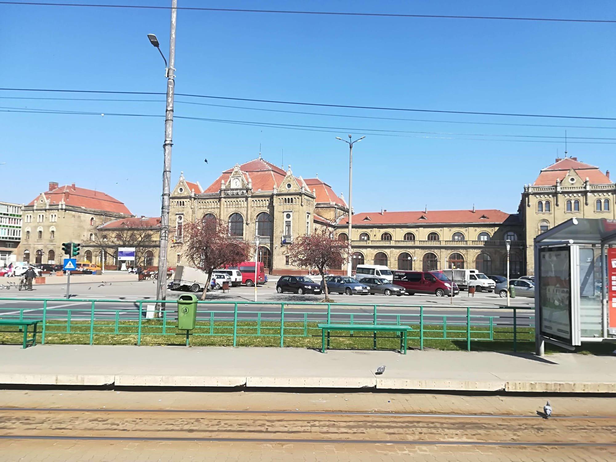 Aradi pályaudvar