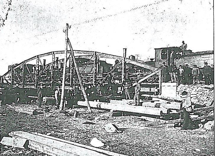 vasúti híd Deznán Arad vármegyében